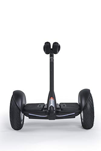 Xiaomi Ninebot S Negro N3M240 - Patinete eléctrico motorizado (hasta 16km/h y 22km de autonomía) con Auto-Equilibrio y faros ultrabrillantes