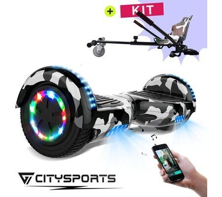 Patinete Hoverboard CitySports E-Scooter y Hoverkart