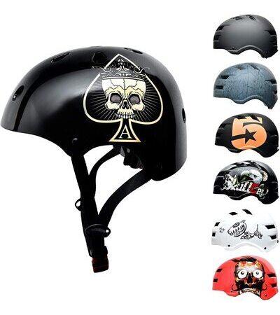 Casco patinete para Niños SkullCap